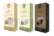 Cápsulas Chocolate Cappuccino Café Italle Compatível Nespresso 30 Unid -