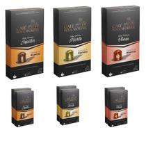 Cápsulas de Alumínio - Compatível com Nespresso - Misto 60 Cápsulas - Café Roccaporena