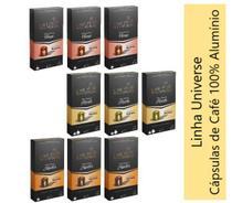 Cápsulas de Alumínio - Compativel com Nespresso - Misto 90 Cápsulas - Café Roccaporena