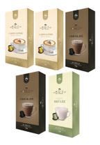 Cápsulas Nespresso Cappuccino Chocolate Café Italle 50 Unid -