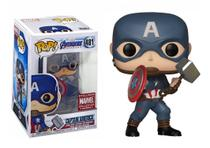 Captain America - Funko Pop - Marvel - Avengers - Collectors Corps Exclusive - 481 -