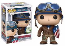 Captain America - Funko Pop - Marvel - The First Avenger - 219 - 2017 Spring Convention Exclusive -