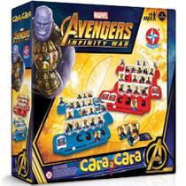 Cara a Cara Avengers Guerra Infinita - Estrela -