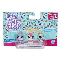 Cara Pack com 3 Littlest Pet Shop - Hasbro E0456 -