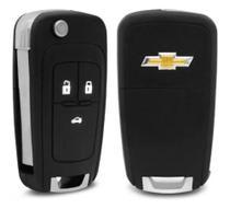 Carcaça oca Canivete Chevrolet GM 3 botões - Gm Chevrolet