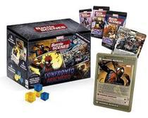 Card Game Battle Scenes Confront Aracnideo - Marvel