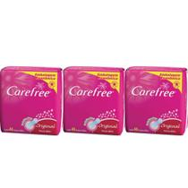 Carefree Proteção Absorvente Higiênico C/ Perfume C/40 (Kit C/03) -