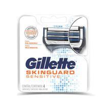 Carga Gillette Aparelho de Barbear Skinguard Sensitive 4 unidades -