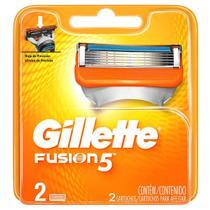 Carga Gillette Fusion 5 com 2 unidades -