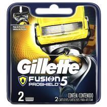 Carga Gillette Fusion ProShield c/ 2 Unidades -