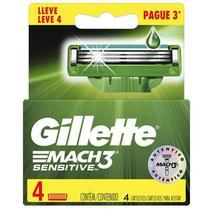 Carga Gillette Mach3 Leve 4 Pague 3 -