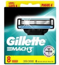 Carga Gillette Mach3 Leve 8 Pague 6 -