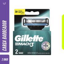 Carga Gillette Mach3 Regular 2 unidades -