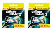 Carga Gillette Mach3 Regular Kit 16 Unidades -