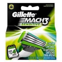 Carga Gillette Mach3 Sensitive com 4 unidades - Procter  gamble do brasil