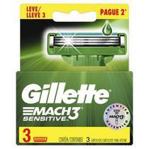 Carga Gillette Mach3 Sensitive Leve 3 Pague 2 - Procter & Gamble