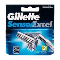 Carga Gillette Sensor Excel - 2 Unidades -