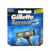 Carga Gillette Sensor3 4 Unidades -