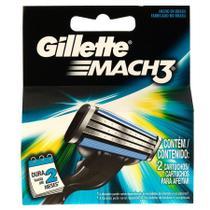 Carga Mach 3 com 2 unidades - Procter & Gamble