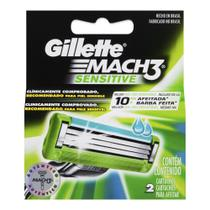 Carga Mach 3 Sensitive 2 Unidades - Gillette