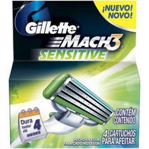 Carga mach3 sensitive com 4 unidades - Procter & Gamble