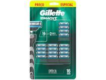 Carga para Aparelho de Barbear Gillette - Mach 3 16 Unidades