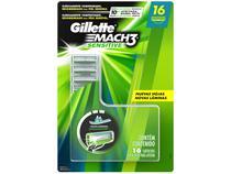 Carga para Aparelho de Barbear Gillette - Mach3 Sensitive 16 Cargas