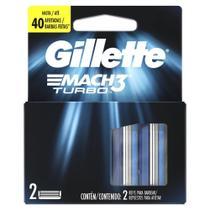 Carga Para Lâmina De Barbear Gillette Mach3 Turbo 2 - unidades -
