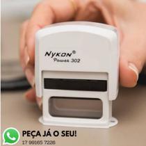 Carimbo automático personalizado - Nykon