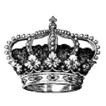 Carimbo Decorativo Coroa - Art Decor Produtos