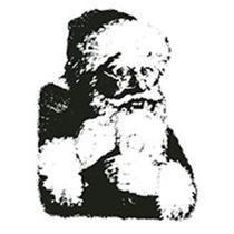 Carimbo em Borracha Litoarte CLPN-009 Papai Noel -