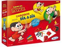 Carimbo Infantil Turma da Mônica com Acessórios - Xalingo