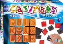 Carimbos Educativos Alfabeto 28 peças - Nig Brinquedos -