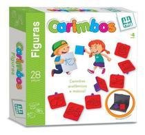 Carimbos Figuras - 28 Peças - Nig Brinquedos -