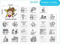 Carimbos Pedagógicos Avaliação E Recados 25 Unidades - Fundamental - Editora Fundamental