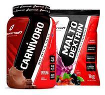 Carnívoro Beef Isolate 900g + Maltodextrina 1kg Body Action - Bodyaction