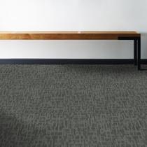 Carpete Placa Shaw Mainstreet Genius Sharp Mescla Escura 44515 61cm x 61cm -