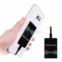 Carregador Adaptador Sem Fio QI Wireless para Celular com entrada V8 Universal - Smart Bracelet
