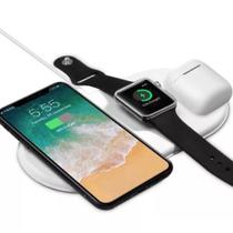 Carregador Airpower Sem Fio Iphone E Watch Airpods - Airpods/Iphone/Watch
