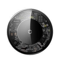Carregador Baseus Sem Fio Transparente 10w iPhone Samsung Motorola -