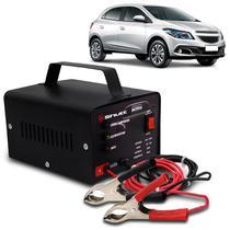 Carregador Bateria Automotivo Para Carro Shutt Bivolt 12V 10A 120W Led Indicador Auxiliar De Partida -