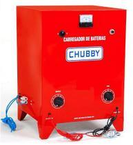 Carregador Bateria Chubby 12v 20ah Carrega Até 15 Baterias Em Série -