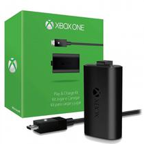 Carregador + Bateria Controle Xbox One Play Charge Original - Microsoft