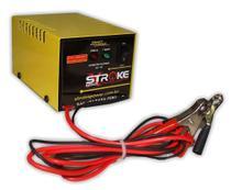 Carregador Bateria Inteligente 12v 3ah Portátil Carro Moto - Stroke power