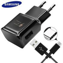 Carregador + Cabo USB-C Samsung Ultra Rápido 100% ORIGINAL A11,A20 A21s A30s A51  (PRETO) -