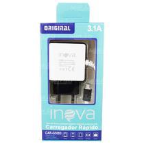 Carregador Celular Micro USB V8 3.1A 2 Entradas USB - Inova