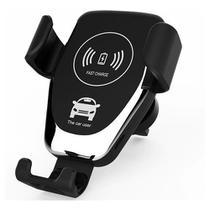 Carregador Celular Sem Fio Suporte Veicular Qi Indução Carro - Lelong