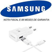 Carregador Completo Fast Charge Original Samsung Para Galaxy J1 J2 J3 J4 J5 J7 Prime A5 A7 2015 -