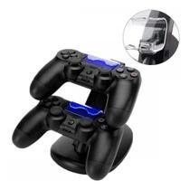Carregador Controle Para DualShock Compatível com PS4 Joystick Duplo Charge - Kingo