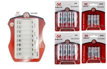 Carregador CP80 carregador V8 e 8 pilhas AAA 8 pilhas AA - Mox